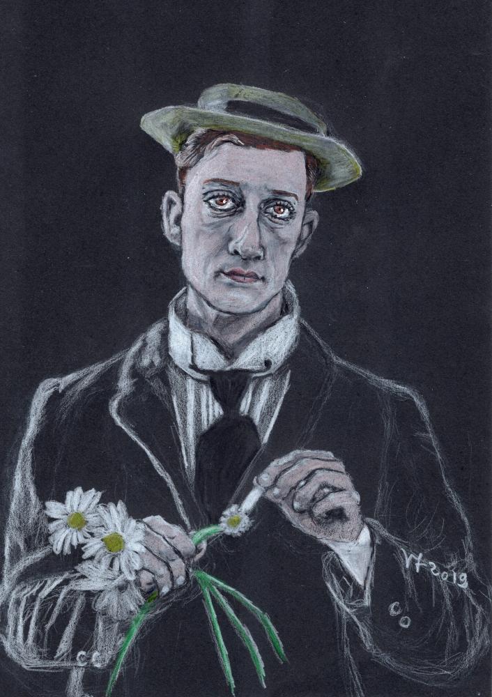 Buster Keaton par Vanessafari